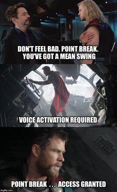 Funny Marvel Memes, Dc Memes, Avengers Memes, Marvel Jokes, Marvel Heroes, Marvel Avengers, Marvel Comics, We Have A Hulk, Superhero Movies