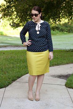 Anchors yellow skirt