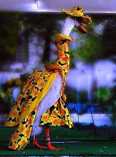 Pied Piper Duck Fashion Show Sydney Australia costume by Brian Harrington