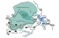 Cherohala Skyway Map
