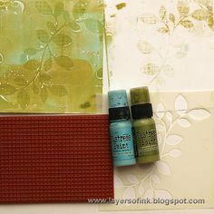 Layers of ink: Gelli Plate