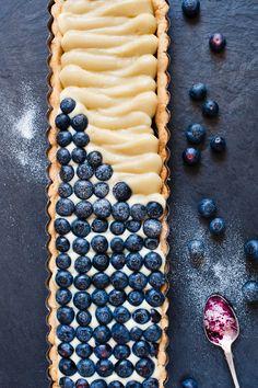 Blaubeer-Tarte | http://eatsmarter.de/rezepte/blaubeer-tarte