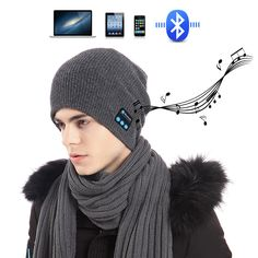 $7.92 (Buy here: https://alitems.com/g/1e8d114494ebda23ff8b16525dc3e8/?i=5&ulp=https%3A%2F%2Fwww.aliexpress.com%2Fitem%2FChristmas-Gift-Winter-Knitted-Hats-Sports-Music-Bluetooth-headset-hat-Stereo-wireless-handsfree-running-headphone-for%2F32767416402.html ) Smart Cap Headset Warm Winter Knitted Hats Sports Music Bluetooth headset hat Stereo wireless handsfree headphone for smartphone for just $7.92