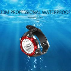 NEW ARRIVAL - Bluetooth Waterproof Smart Watch with Temperature Altitude Monitor Stopwatch Sport Activity Tracker