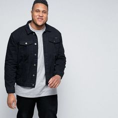 The ASOS Men's Plus Size Collection launches with sizes XL - XXXXL with a variety of modern styles at affordable prices. See our faves from the collection.
