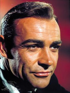 Still Of Sean Connery In Goldfinger