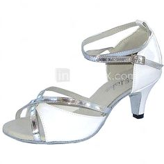Customized Latin Women's Sandals Customized Heel Dance Shoes More Colors - USD $26.99