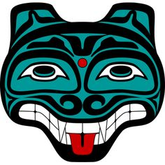 Haida tattoos meanings, history, symbology with Haida Tattoo graphics, images and picture tdeas. Haida Tattoo, Inuit Kunst, Inuit Art, Arte Haida, Haida Art, Native American Patterns, Native American Symbols, Native Symbols, Native Art