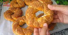 Suda Pişen Çıtır Simit Tarifi   Renkli Hobi Arabic Food, Bagel, Food And Drink, Bread, Desserts, Pizza, Turkish Cuisine, Turkish Recipes, Essen