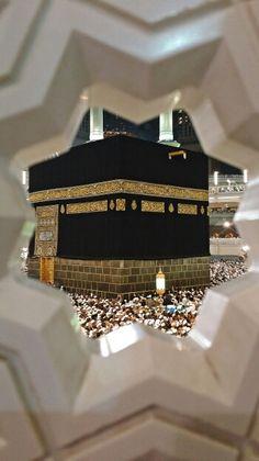 The Kaabah fron a view Masjid Haram, Mecca Kaaba, Quran Surah, Makeup Tutorial Eyeliner, Madina, Muslim Quotes, Islamic Art, Ramadan, Allah