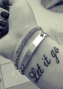 Frase: Let it go