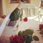 Ospitalità altoatesina: champagne e rose come seconda colazione