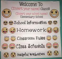 3rd Grade Classroom, Classroom Rules, Classroom Setup, School Classroom, Classroom Organization, Classroom Management, Classroom Door, Elementary Teacher, Elementary Schools