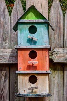 Colorful Birdhouse