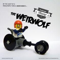 David Weir - Lego London 2012 Paralympics