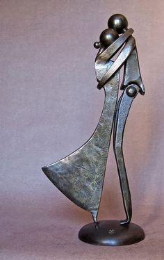 Jean-Pierre Augier, 1950 | metalowe rzeźby | Tutt'Art @ | Pittura * scultura * Poesia * Musica |