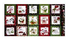 "Loralie Designs Kitty Kitty Christmas 23"" Panel Black"