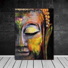 Buddha Kunst, Buddha Canvas, Buddha Wall Art, Buddha Painting, Wall Art Pictures, Canvas Pictures, Canvas Poster, Canvas Artwork, Images D'art
