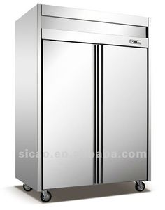 "Restaurant Kitchen Fridge true t-49g 55"" glass door reach in refrigerator | glass doors"