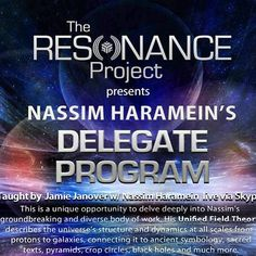 "@resonanceproject's photo: ""We are BACK from a week hiatus and very excited to announce the next Nassim Haramein's Delegate Program! A weekend seminar taught by #TheResonanceProject's lead emmisary @jjjanover w/ #NassimHaramein appearing live via Skype!  Amherst, MA, USA  Sept. 13-15, 2013  Event Invite: https://www.facebook.com/events/647791025248990/"""