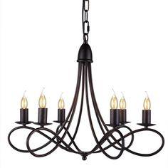 Elegant Lighting Lyndon 6 Light Candle Chandelier & Reviews | Wayfair