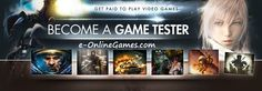 Calling all serious GAMERS.Become A Game Tester - Start Making Money Playing Games Now! Calling all Test Video, Do Video, How To Get Rich, How To Become, Game Tester Jobs, Video Game Companies, Games To Play, Playing Games, Great Videos