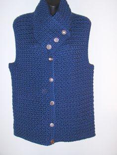 Ravelry: Another Neckwarmer Vest pattern by Carol Wolf