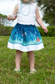Isabella's Girls Skirt Pattern shows you how to sew up adorable kid's clothes patterns in very little time. Whether you are just looking for something cute for your cutie to wear or need a fancy idea for church on Sunday, this girl's skirt pattern wi