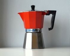 Vintage Moka 6 tazze Stilnova caffettiera italiana di RosaGeranio