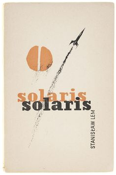 Polish book cover 1961 Konstanty Sopocko, Solaris
