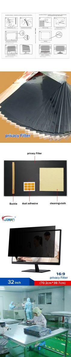 32 inch Privacy Filter Screen Protective film for 16:9 Widescreen Desktop Computer 70.2cm* 39.7cm