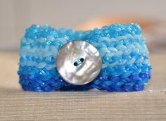 Dragon Scale loom armband (double looms) - loom bracelet