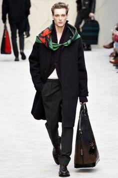 Burberry Prorsum menswear fashion collection, autumn/winter 2014