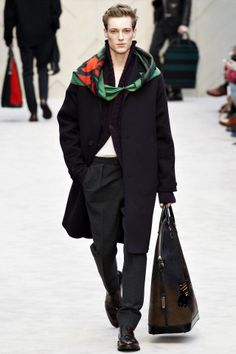 Burberry Prorsum menswear fashion collection, autumn/winter 2014