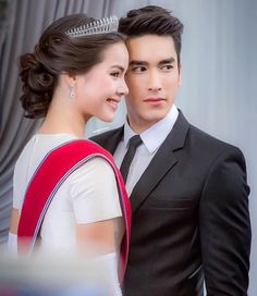 Nadech and Yaya Men Photography, Military Women, Thai Model, Native American Fashion, The Most Beautiful Girl, Actor Model, Celebs, Celebrities, Celebrity Couples