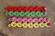 crochet bracelets pattern