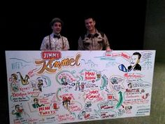 Me and Jimmy Kimmel and my Imagethink board I did for his SXSW talk. He was quite delightful, he loves to draw as well. More photos to come, biggest crowd I've ever graphic recorded for!