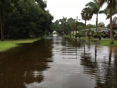 PHOTO: Flood waters caused by Hurricane Hermine ravaged a residential…