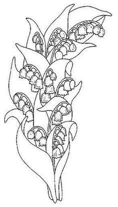 Цветочные трафареты для росписи или батика. Обсуждение на LiveInternet - Российский Сервис Онлайн-Дневников
