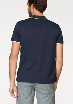 TOM TAILOR Polo Team Poloshirt mit Frontprint | OTTO Polo Rugby Shirt, Polo Team, Toms, Tom Tailor, Polo Ralph Lauren, Shirts, Mens Tops, Fashion, Sporty Outfits