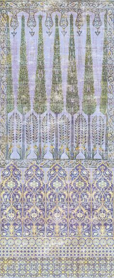 Palace Collection - Topkapi Wallpaper 4 Yard Panel Roll - The Nicolette Mayer Collection