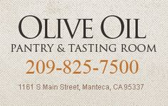 The Olive Oil Pantry | A retail store located in the great city of Manteca, California.