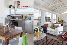 Con la sencillez propia de una casa de vacaciones, los interiores tienen un aire mediterráneo y relajado para disfrutar sin complicarse.  /Gentileza Enrique Menossi