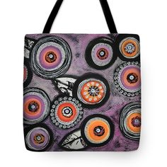 Flowers Tote Bag featuring the painting Flower Series 8 by Graciela Bello
