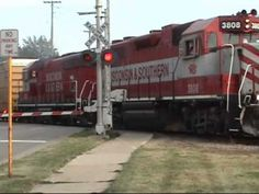 ▶ High Iron Throwback #7: WSOR 3808 Departing Madison With a Long M3 7/8/2007 - YouTube