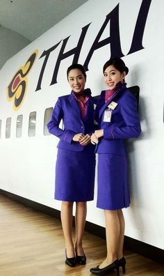 "He tried to take these two beautiful Thai Airways cabin crew hostage, but instead was captured by them. They refused to surrender or to follow his instructions. After 30 minutes of getting nowhere, he decided to give up and handed over his gun to them. ""He told us he loved my skirt, while I tied him up,"" recalled stewardess Kyi Savratram (right), ""He told us that was why he had surrendered, "" added her colleague, Navrata Syingham (left). The  gun turned out to be a replica."