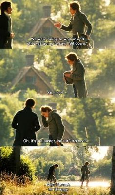 Mr. Darcy helping Mr. Bingley with his proposal. by vladtodd