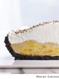 Chocolate Banana Cream Pie Recipe | Leite's Culinaria