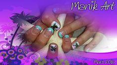 #nails #nailart #summer #south #plamtree #design #original