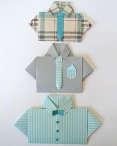 Get step-by-step instructions for making a Father's Day shirt card.